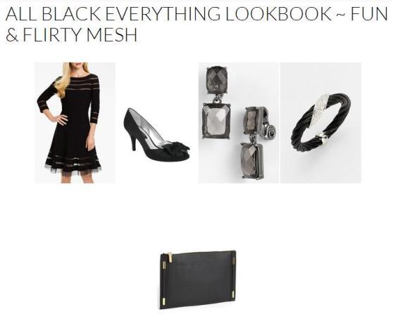 All Black Everything Lookbook ~ Fun & Flirty Mesh