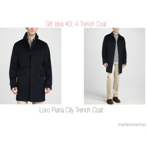 Holiday Gift Survival Guide - Practical Guy Gift Idea #3: A Trench Coat