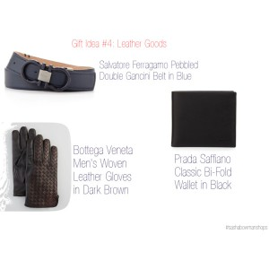 Holiday Gift Survival Guide - Practical Guy Gift Idea #4: Leather Goods