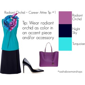 wear radiant orchid 1