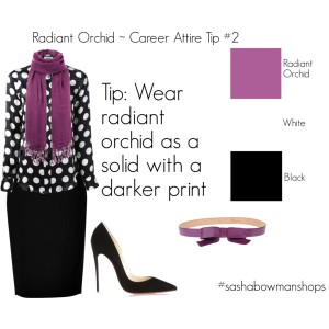 wear radiant orchid 2