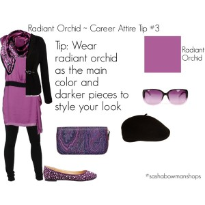 wear radiant orchid 3