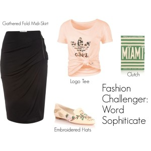 Fashion Challenger - Word Sophisticate - Wordplay 2