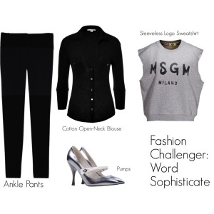 Fashion Challenger - Word Sophisticate - Wordplay 1