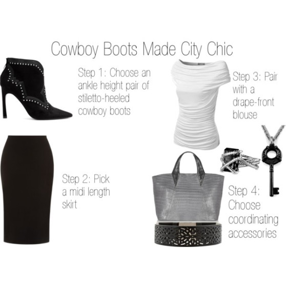 Fashion Byte - Cowboy Boots Made City Chic