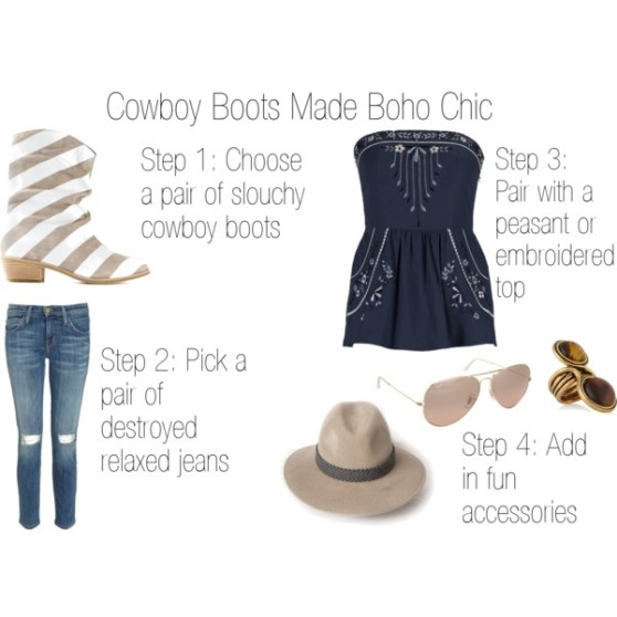 Fashion Byte - Cowboy Boots Made Boho Chic