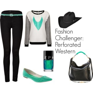 Fashion Challenger - Perforated Western